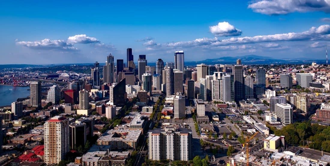 ciudad, paisaje urbano, arquitectura, edificio, panorama urbano, centro de la ciudad,