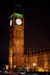 architecture, clock, tower, city, building, London, parliament, landmark