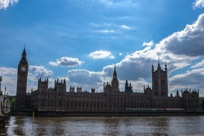 architecture, landmark, London, England, river, city, tower, parliament