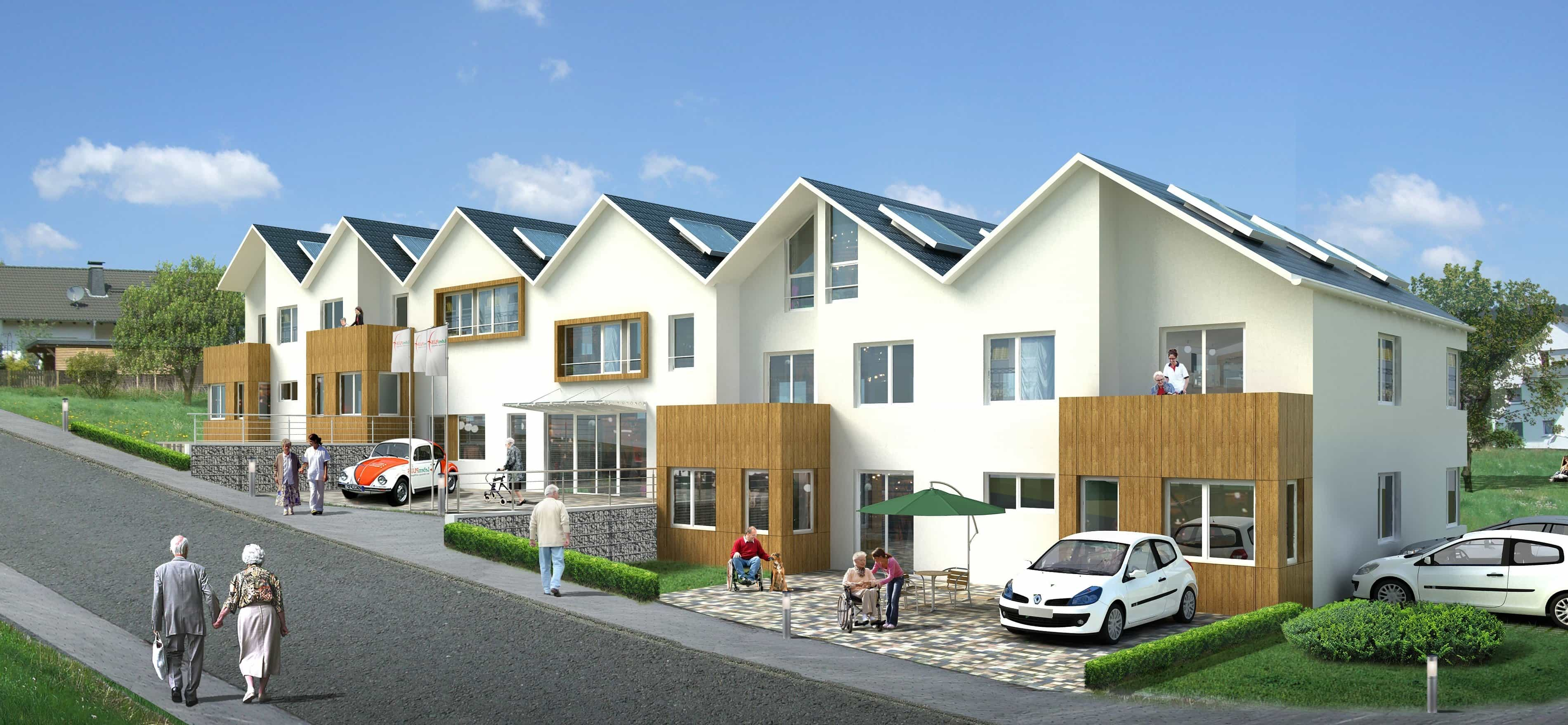 Kostenlose Bild: Haus, Haus, Architektur, bauen, Fassade, Vorort ...