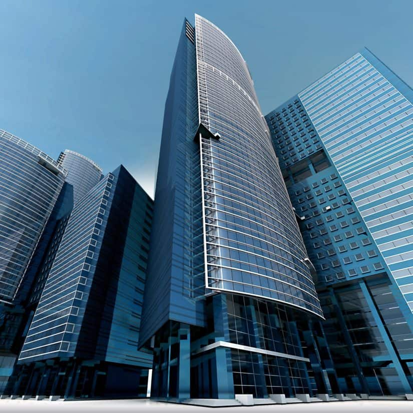 arkitektur, byen, bygge, fasade, sentrum, moderne, bybildet, urbane