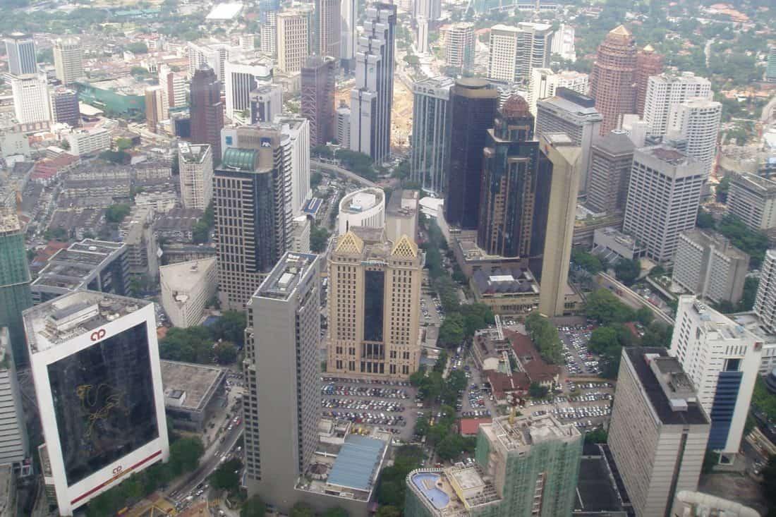 ciudad, antena, paisaje urbano, urbana, arquitectura, centro, edificio emblemático, moderno