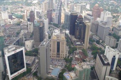 град, въздушни, градски пейзаж, градски, архитектура, центъра, сграда, забележителност, модерни