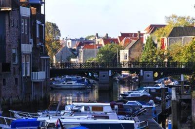 agua, ciudad, arquitectura, edificio, nave, ciudad, estructura urbana