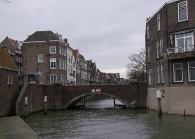 architecture, canal, maison, bâtiment, eau, maison, ville, pont, ciel