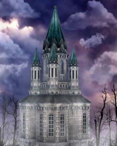 Architektur, Himmel, Illustration, Kunst, Gothic, alt, Turm, Stadt