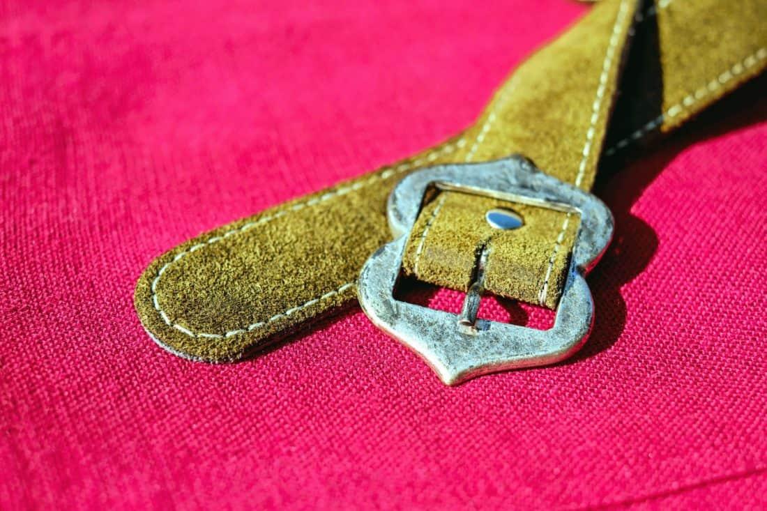 ключалката, кърпа, червено, кожа, инструмент, мода, колан
