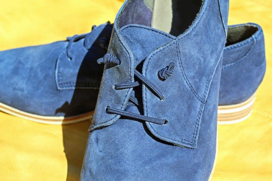 fashion, leather, footwear, shoe, blue, object
