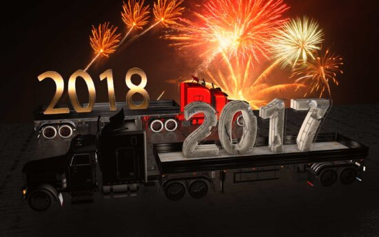 New Year, celebration, photomontage, firework, number, night, illustration, text, abstract