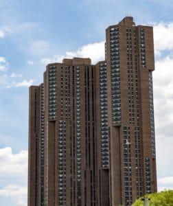 Architektur, Stadt, Himmel, Turm, Fassade, Innenstadt, Wohnung, hoch, urban