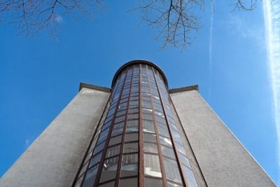 Architektur, Himmel, Stadt, Turm, Fassade, Gebäude, Struktur, urban, groß, Glas