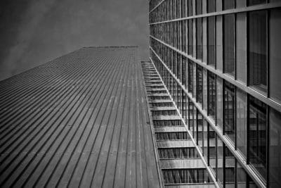 city, monochrome, steel, architecture, structure, urban, glass