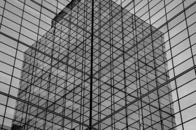 architecture, monochrome, building, facade, geometric, steel, design, futuristic, modern