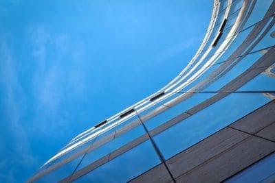 nebo, futuristički, arhitektura, zgrada, fasade, struktura