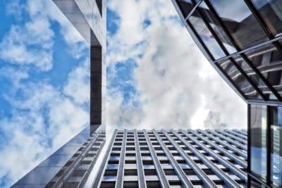 thành phố, kiến trúc, xây dựng, mặt tiền, thép, bầu trời xanh, hiện đại, khu đô thị, tinh