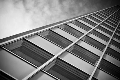 window, monochrome, building, facade, architecture, city, glass, urban, modern