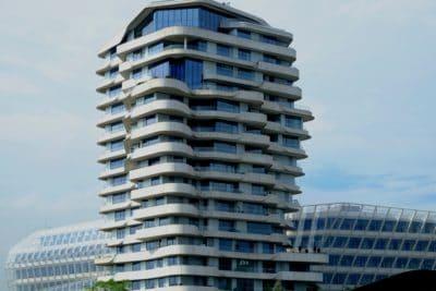 byen, bygge, fasade, sentrum, moderne, sky, arkitektur, urban, tower, høy