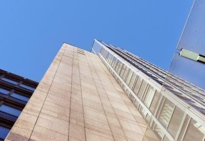 Architektur, modern, Himmel, Stadtturm, urban, groß, Glas