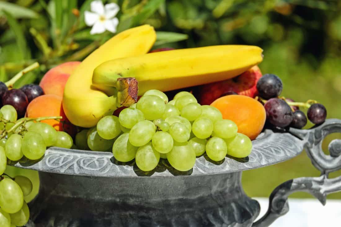 nutrition, grape, food, berry, fruit, grapes, citrus, diet, banana