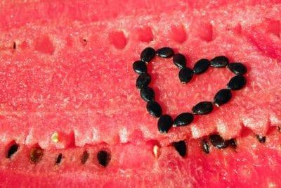 sandía, semillas, fruta, comida, rebanada, melón, dulce, textura, corazón, sabroso, semilla