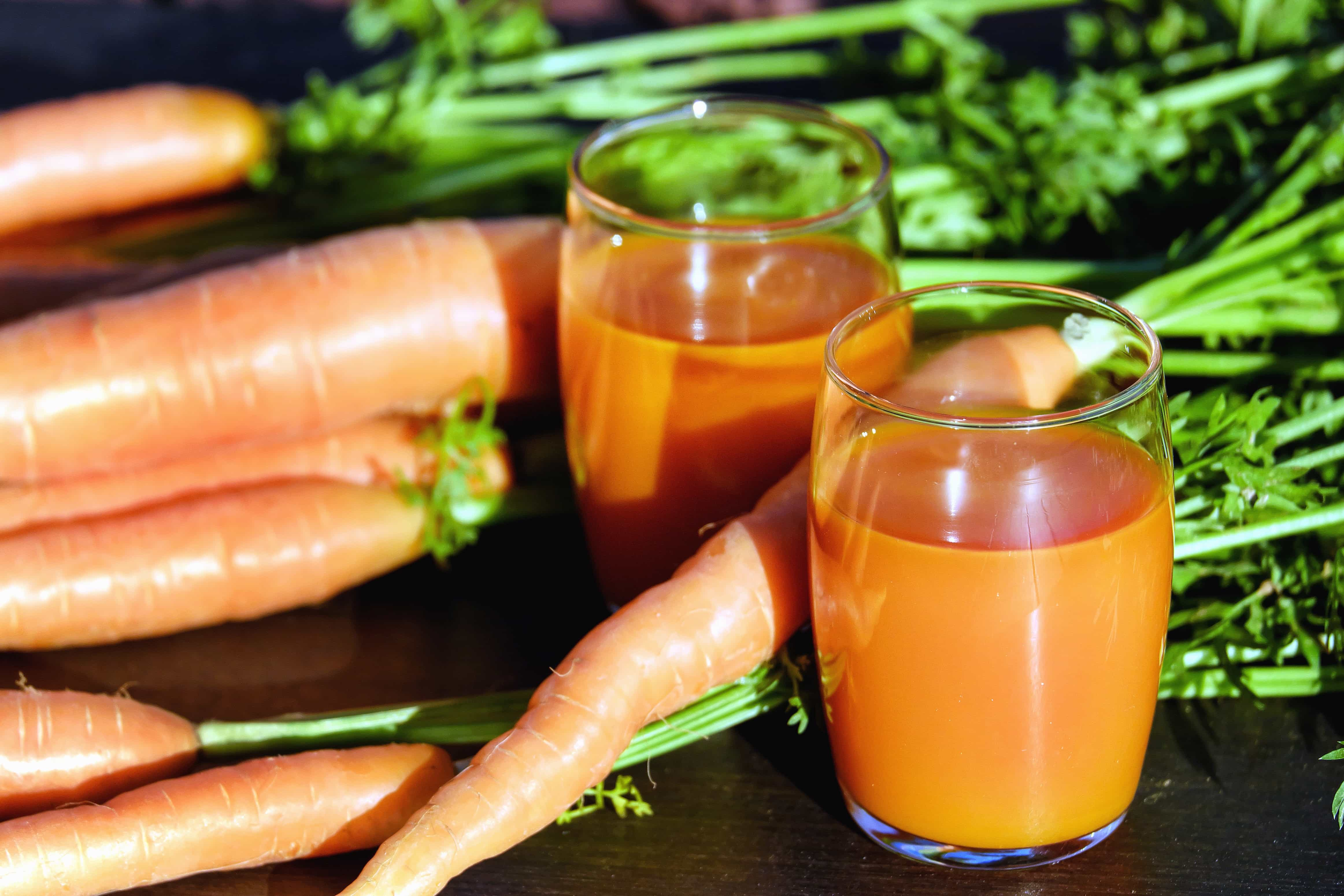 Free Picture Juice Time Glass Carrot Vegetable