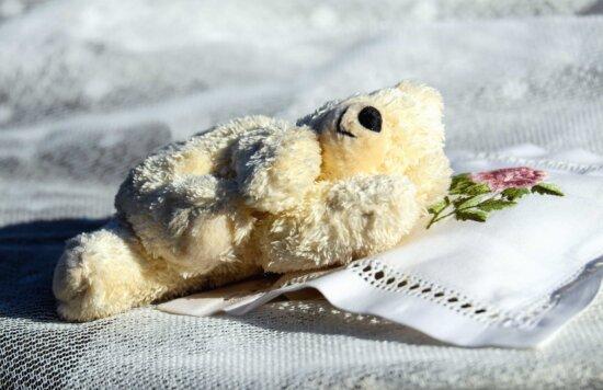Мишка, игрушки, куклы, ткань