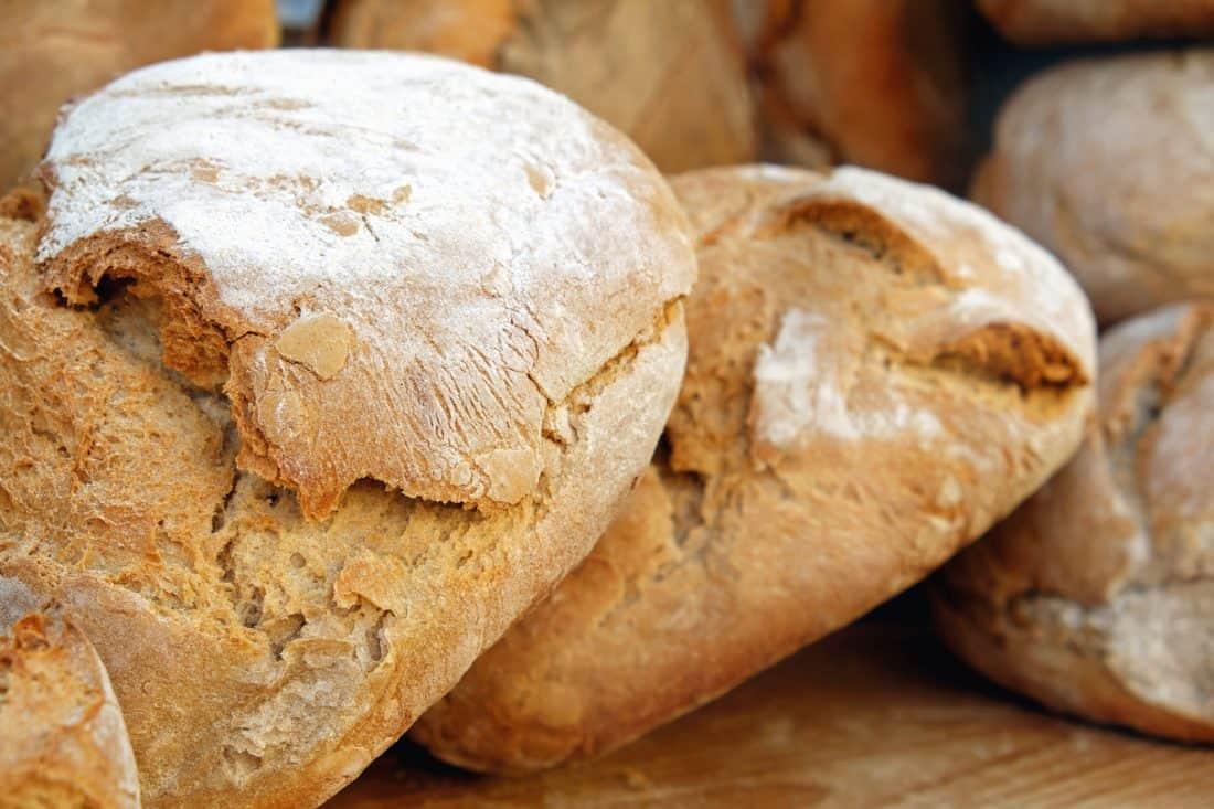 домашно, Закуска, храна, вкусни, кафяв, брашно, брашно, хляб, сладкарски