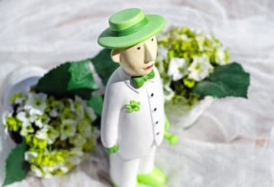 toy, doll, art, flower, wedding, hat, petal, leaf