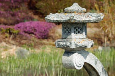 cvijeće, arhitektura, trava, vrt, kamen