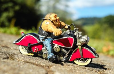 biker, adventure, vehicle, toy, object, model