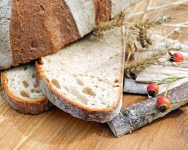 homemade, bread, organic, grain, plant, wood, table, flour, breakfast