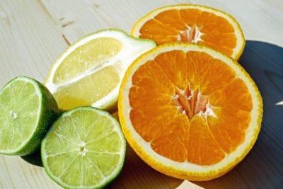 fruits, agrumes, citron, nourriture, vitamine, tranche, fruit sucré, orange