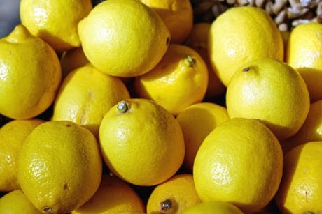 lemon, food, fruit, citrus, yellow, organic, diet