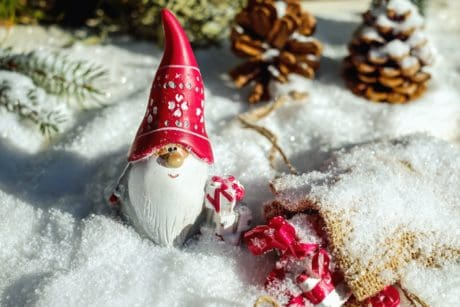 frost, snow, winter, toy, gift, snowflake, decoration