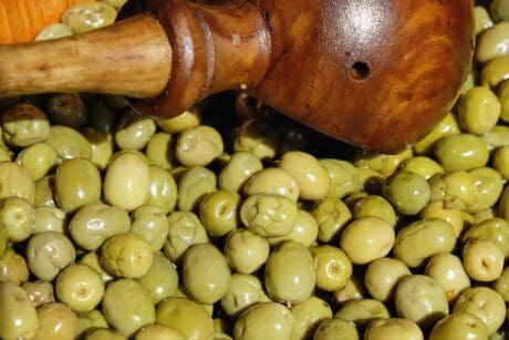 olive, food, diet, organic, nutrition, wood, fruit, object