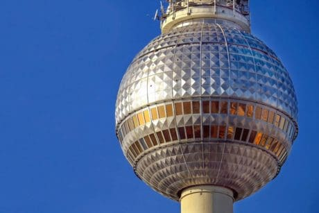 architecture, sphere, blue sky, tower, dome, outdoor