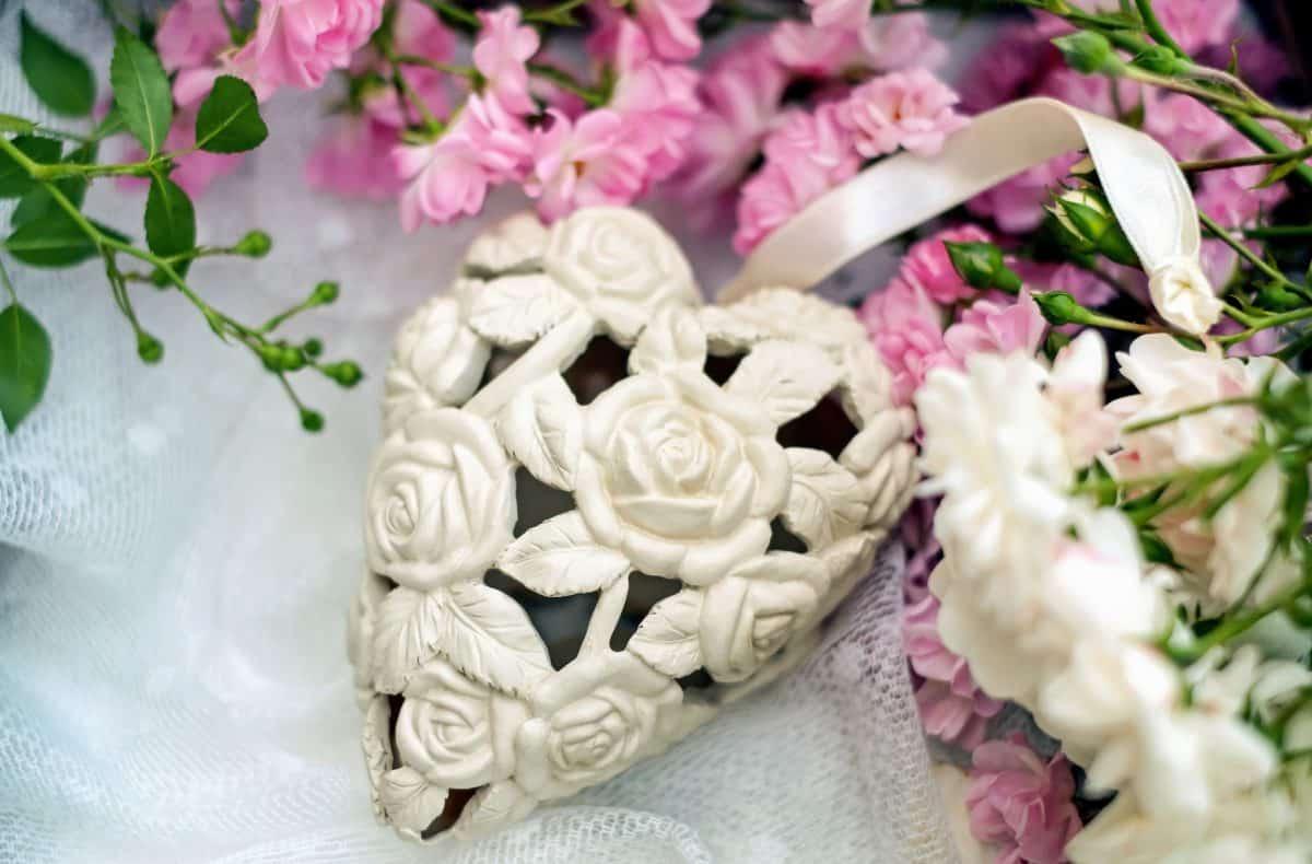 flower, love, heart, decoration, arrangement, flowers, pink, plant