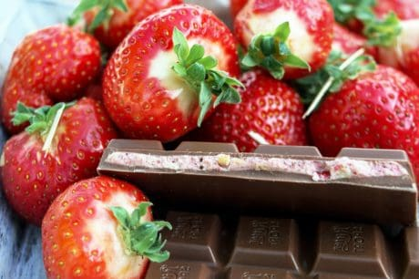 sweet, delicious, strawberry, chocolate, food, fruit, dessert, organic