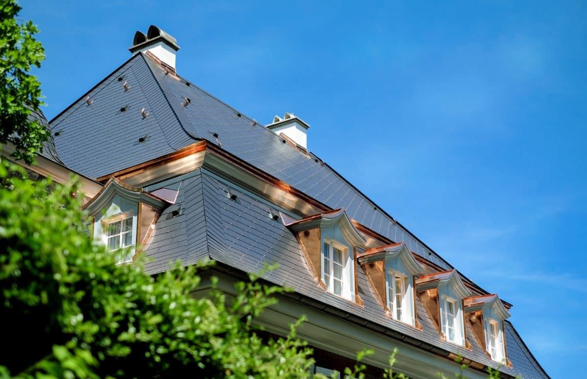 toit, maison, architecture, arbre en plein air, ciel,