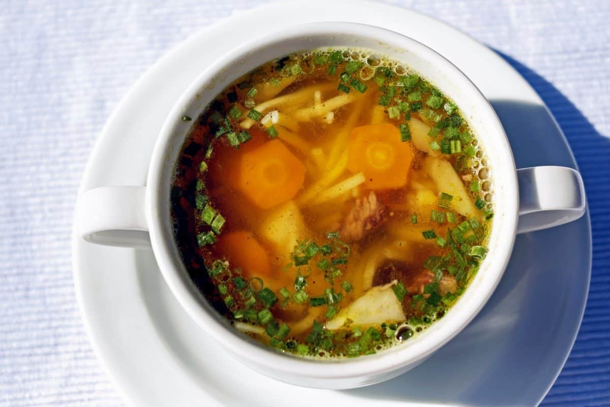 warzyw, zupa, miski, naczynia, kolacja, obiad, jedzenie, posiłek, pyszne