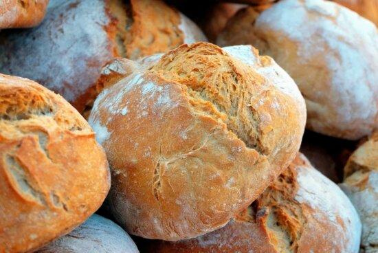 pain, céréales, boulangers, nourriture, petit déjeuner, nourriture