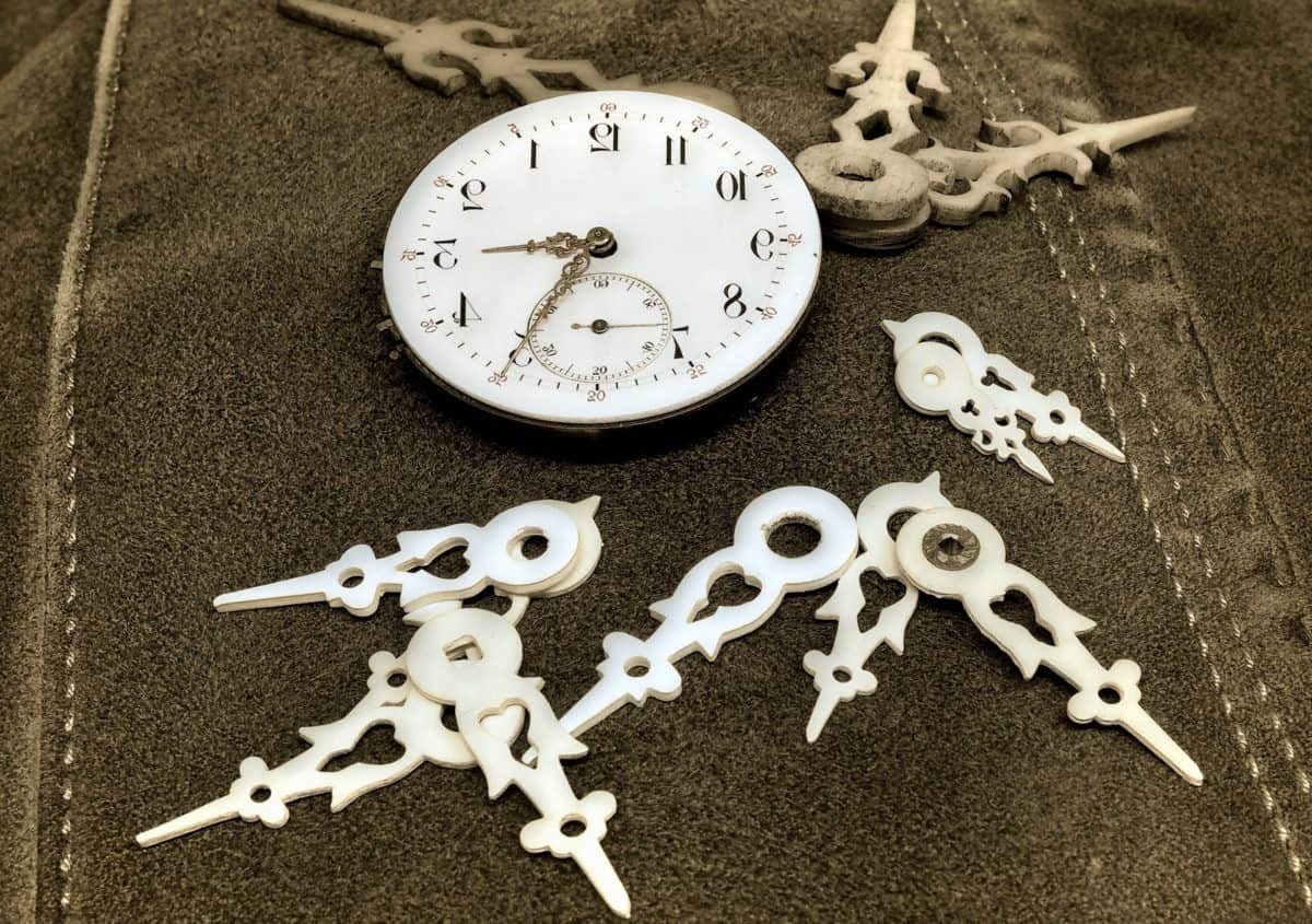 seam, textile, clock, timepiece, minute