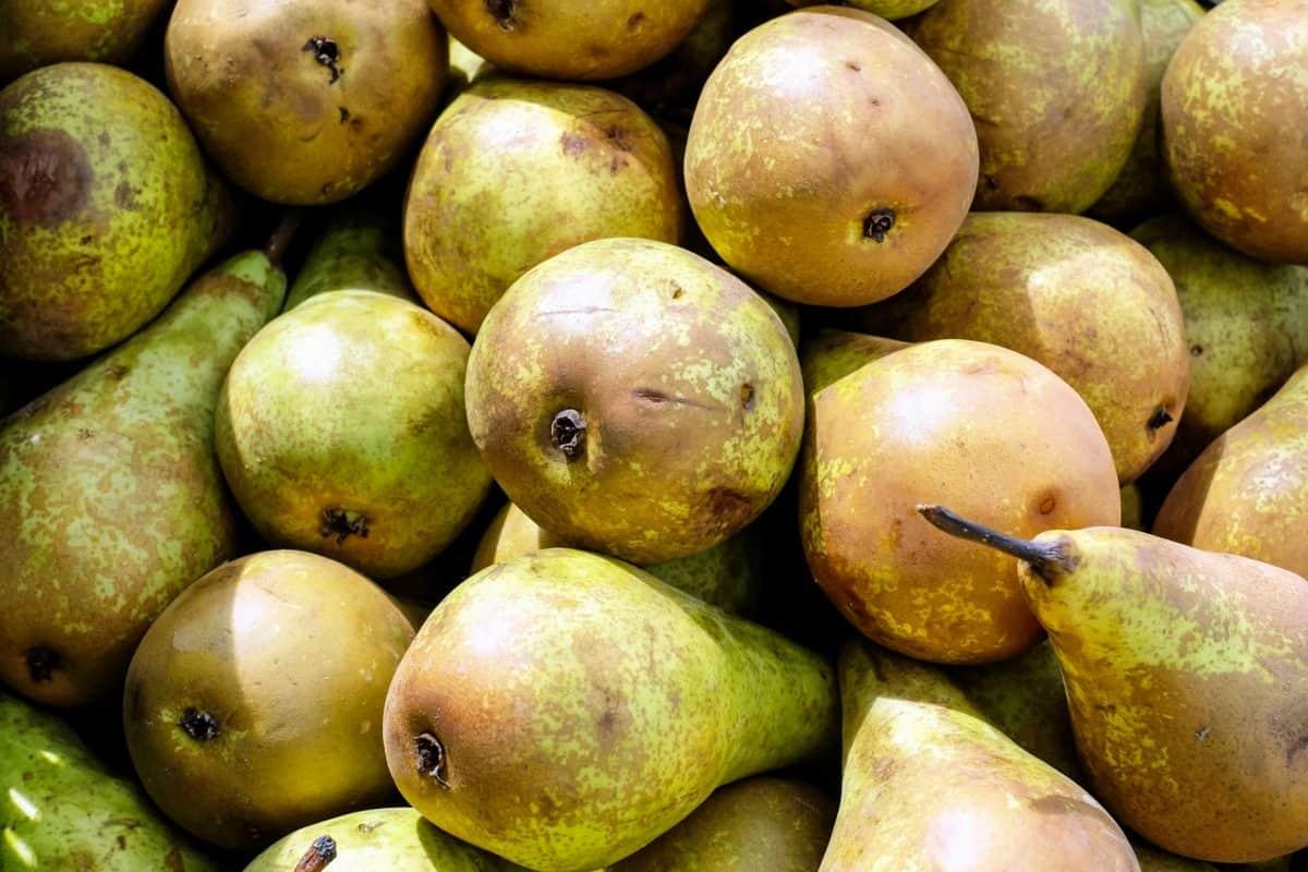 pear, market, diet, vitamin, nutrition, food, fruit