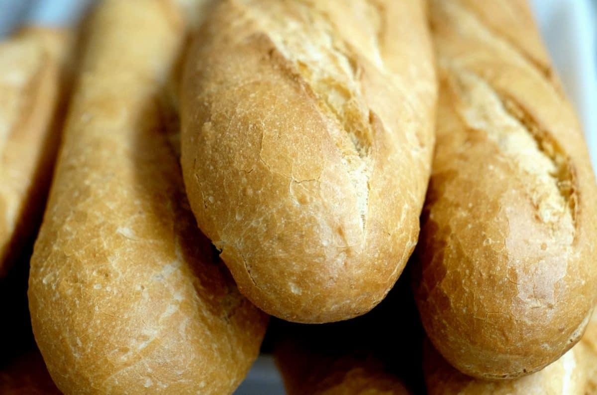 jídlo, snídaně, chléb, lahodné, moučka, hnědá