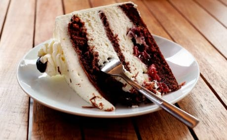 food, cake, chocolate, sweet, delicious, cream, sugar, fork