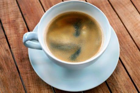 kaffe, koffein, drikke, Kaffekop, træ, espresso, drikkevarer, morgenmad