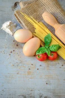 food, wooden, rustic, wood, egg, tomato, meal, kitchen, kitchenware