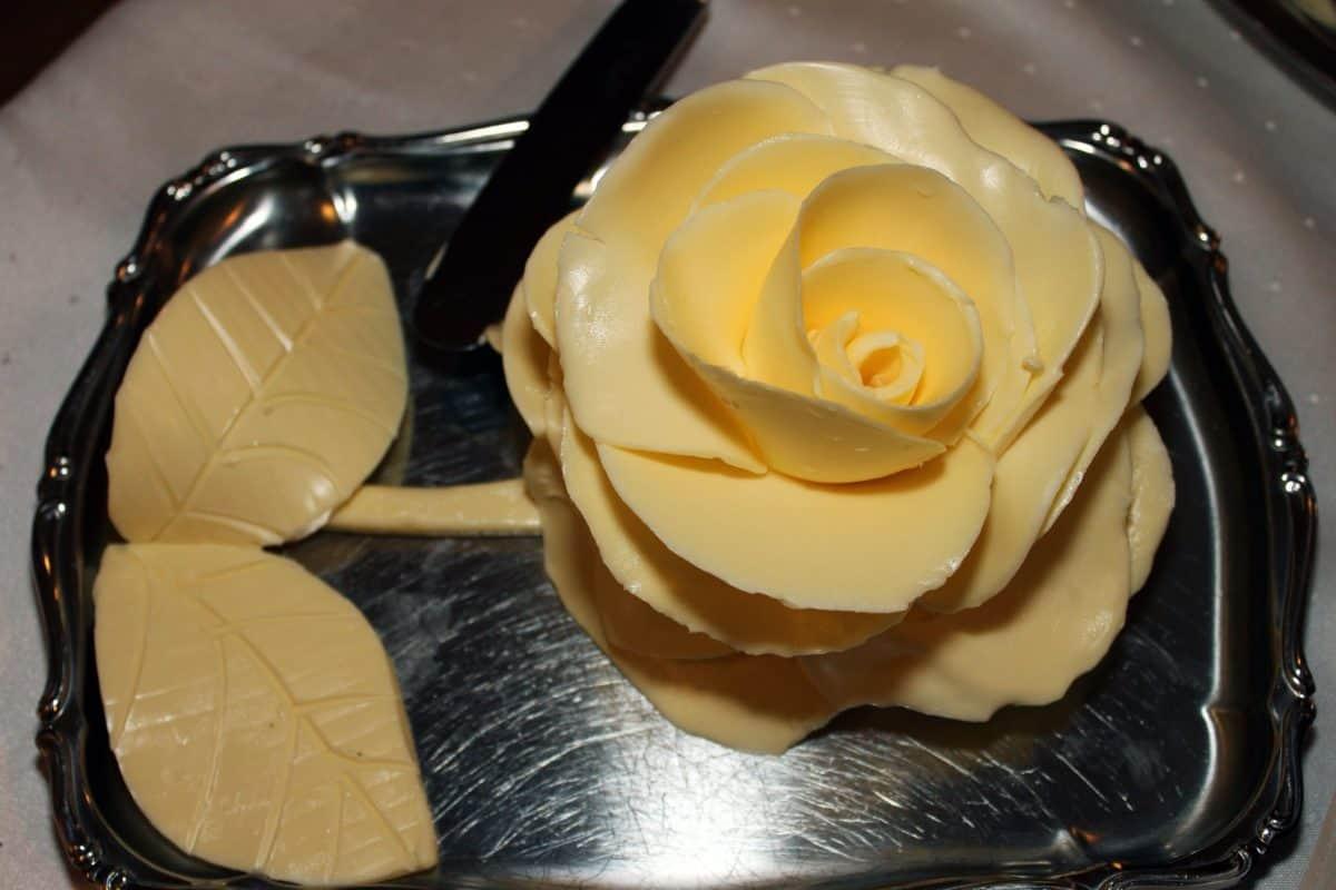 Rose, Stillleben, Objekt, gelb, handgefertigt