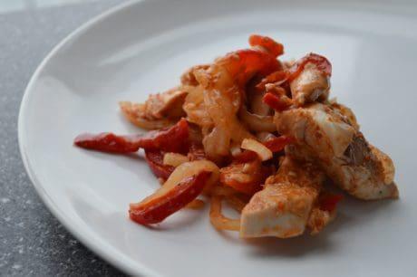 Mittag- und Abendessen, Gericht, köstliche Meeresfrüchte, Essen, Mahlzeit