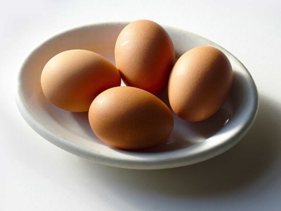 cholesterol, egg, eggshell, breakfast, chicken, food, fruit